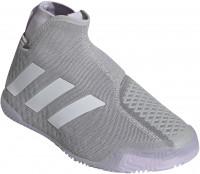 Damskie buty tenisowe Adidas Stycon Laceless W - grey two/cloud whie/purple tint