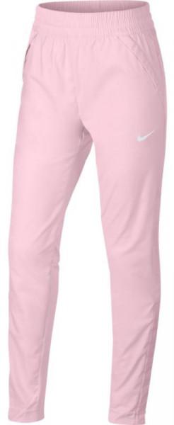 Bikses meitenēm Nike G Dri Fit Pant Woven - pink foam/white