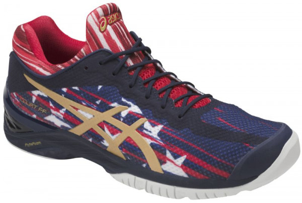 Asics Court FF L.E. NYC - indigo blue/rich gold/prime red