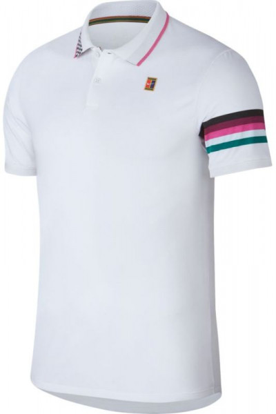 Męskie polo tenisowe Nike Court Advantage Polo MB NT - white