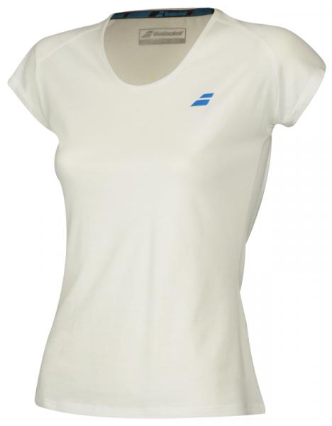 Marškinėliai mergaitėms Babolat Core Tee Girl - white