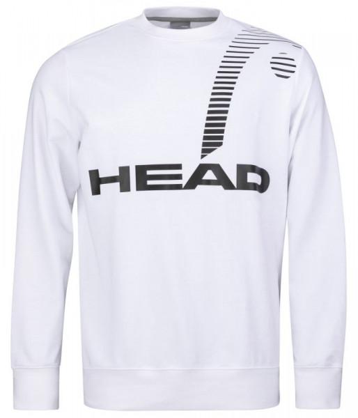 Tenisa džemperis vīriešiem Head Rally Sweatshirt M - white