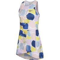 Damska sukienka tenisowa Nike Court Team Dress Melbourne W - lilac mist/off noir