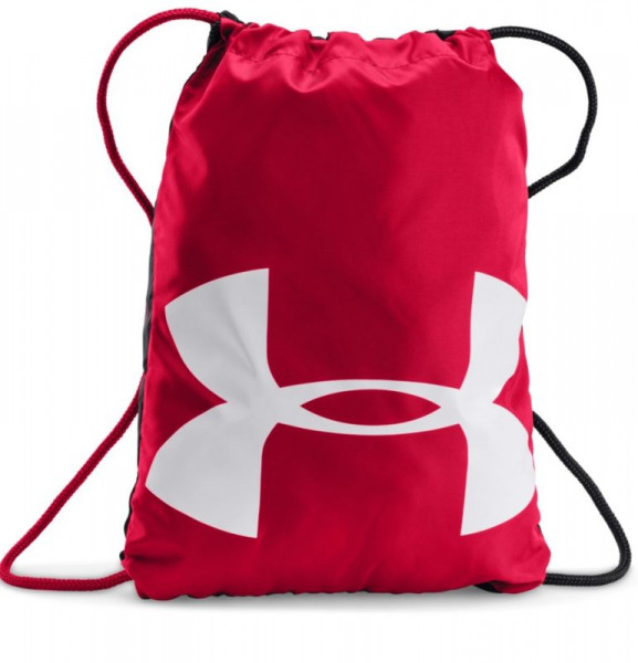 Teniso kuprinė Under Armour Ozsee Sackpack - red