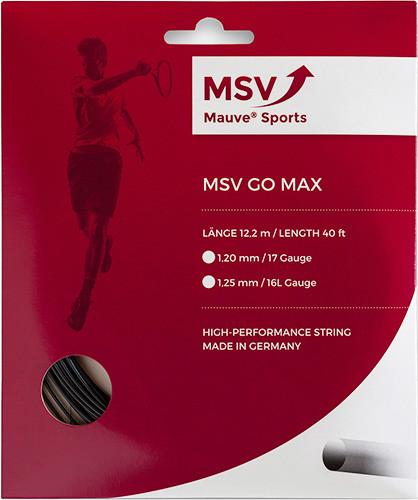 Teniska žica MSV Go Max (12 m) - black