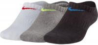 Skarpety tenisowe Kids' Nike Performance Cushioned No-Show Training Socks - 3 pary/multi-color