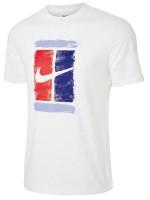 Teniso marškinėliai vyrams Nike Court M Tee Court - white