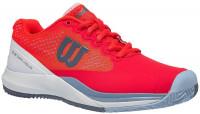 Damskie buty tenisowe Wilson Rush Pro 3.0 Clay Court W - fiery coral/white/cashmere blue