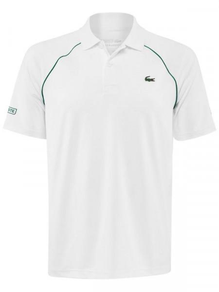 Polo marškinėliai vyrams Lacoste Men's SPORT Novak Djokovic Breathable Ultra-Light Polo Shirt - white