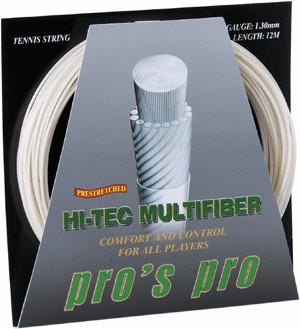 Tenisa stīgas Pro's Pro Hi-Tec Multifiber (12 m)