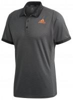Polo marškinėliai vyrams Adidas M Freelift Polo Primeblue - grey six/true orange