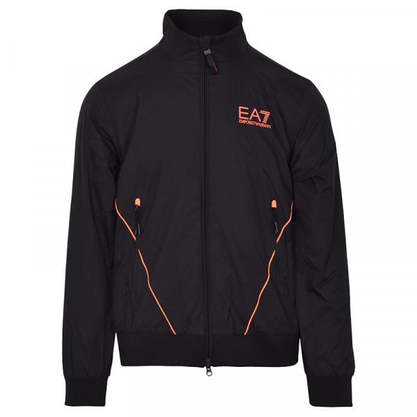 Męska kurtka tenisowa EA7 Man Woven Bomber Jacket - black