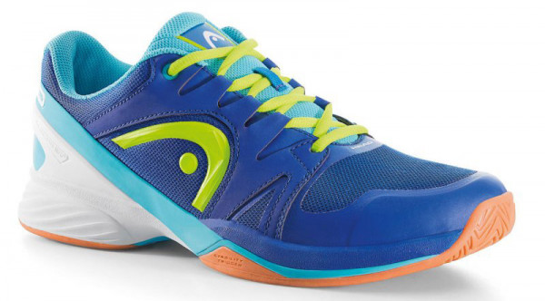 Buty do squasha Head Nitro Pro Indoor - blue/neon yellow