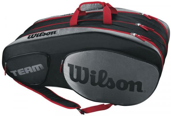 Wilson Team III 12 Pack Bag - black/grey