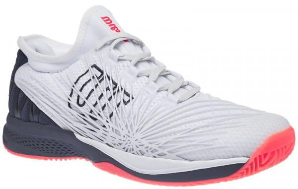 Męskie buty tenisowe Wilson Kaos 2.0 SFT Clay - white/ebony/fiery coral