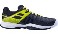 Teniso batai vyrams Babolat Pulsion All Court Men - black/fluo aero