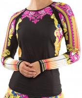 T-krekli sievietēm Lucky in Love Rockin Rococo Long Sleeve Women - multicolor