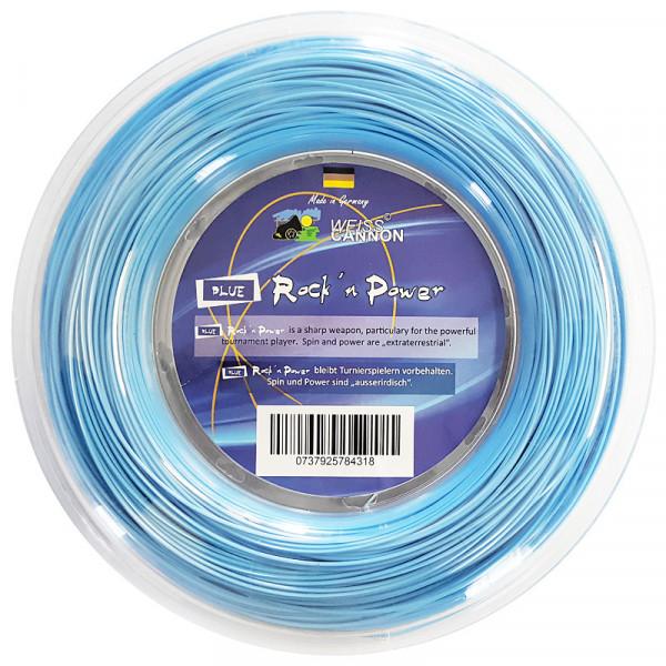 Naciąg tenisowy Weiss Cannon Rock'n Power (200 m) - blue