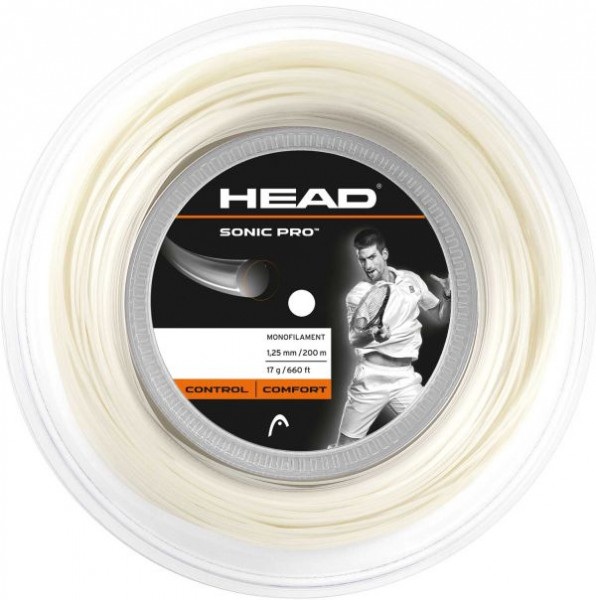 Tennisekeeled Head Sonic Pro (200 m) - white