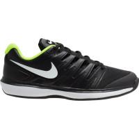 Teniso batai vyrams Nike Air Zoom Prestige Clay - black/white/volt