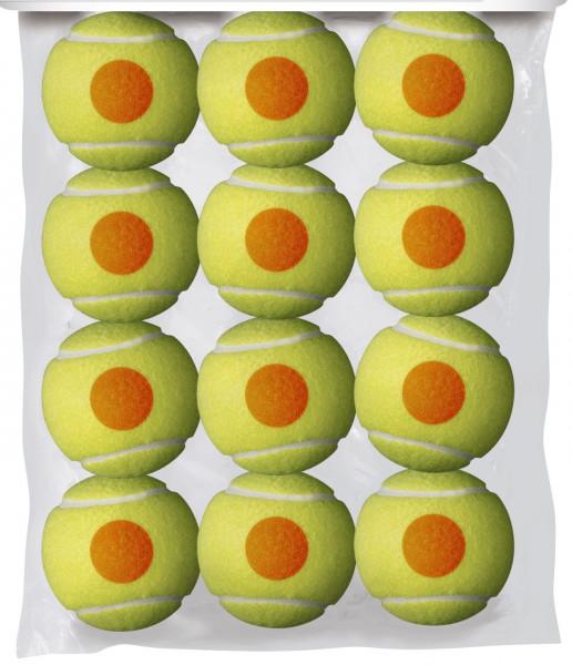 Teniso kamuoliukai pradedantiesiems Wilson Starter Orange - 12 vnt.
