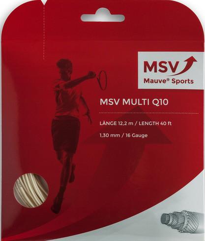 Naciąg tenisowy MSV Multi Q10 (12 m) - white