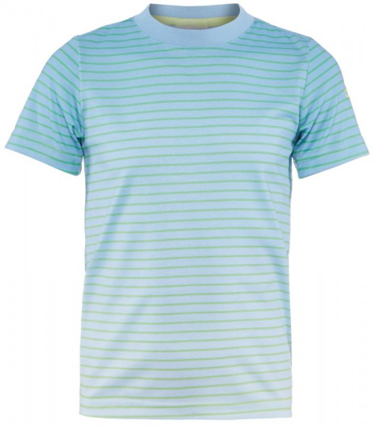 T-shirt Adidas Boys Melbourne Tee - semi frozen yellow/ash blue