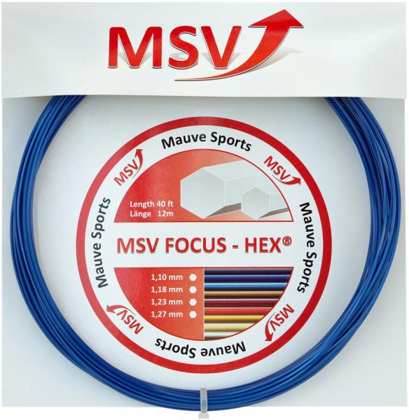 Naciąg tenisowy MSV Focus Hex (12 m) - sky blue
