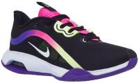 Damskie buty tenisowe Nike WNNS Air Max Volley - black/white/liquid lime/pink blast