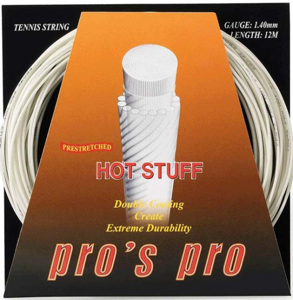 Teniso stygos Pro's Pro Hot Stuff (12 m) - ivory