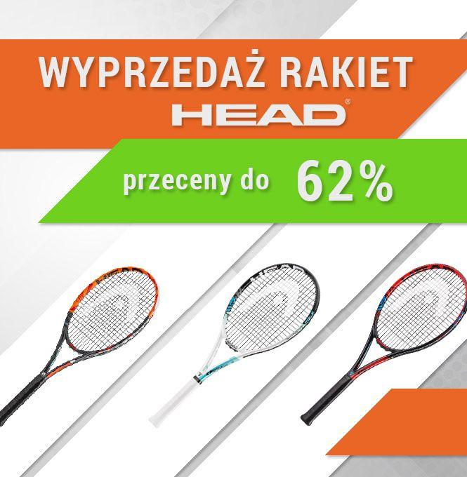 Head - Wyprzedaż rakiet tenisowych