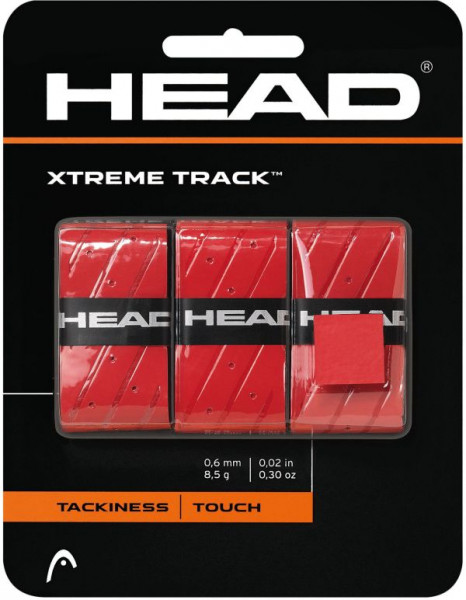 Overgrip Head Xtremetrack (3 szt.) - red