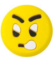 Tenisa vibrastopi Wilson Emotisorbs Angry Yellow Face