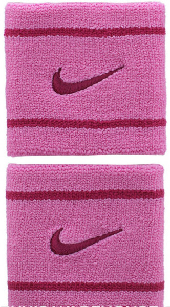 Frotka tenisowa Nike Dri-Fit Wristbands - red violet/bright magenta