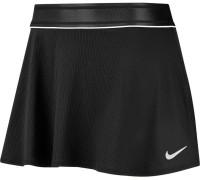 Damska spódniczka tenisowa Nike Court Dry Flounce Skirt - black/white
