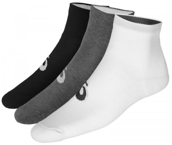 Tenisa zeķes Asics 3PPK Quarter Socks - 3 pary/white/black/grey