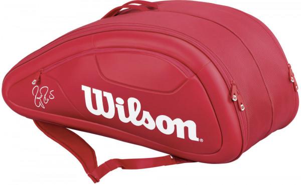 Wilson Federer DNA 12 Pk Bag - red