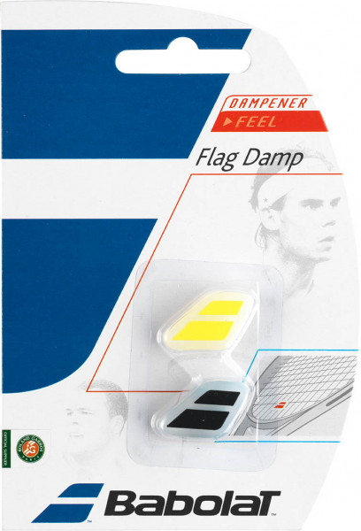 Vibracijų slopintuvai Babolat Flag Damp - black/yellow