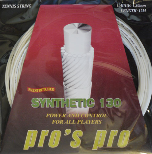 Tenisa stīgas Pro's Pro Synthetic (12 m)