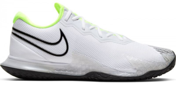 Męskie buty tenisowe Nike Air Zoom Vapor Cage 4 - white/black/volt/pure platinum