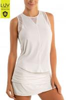 Ženska majica bez rukava Lucky in Love Luv Chill Out Tank Women - white