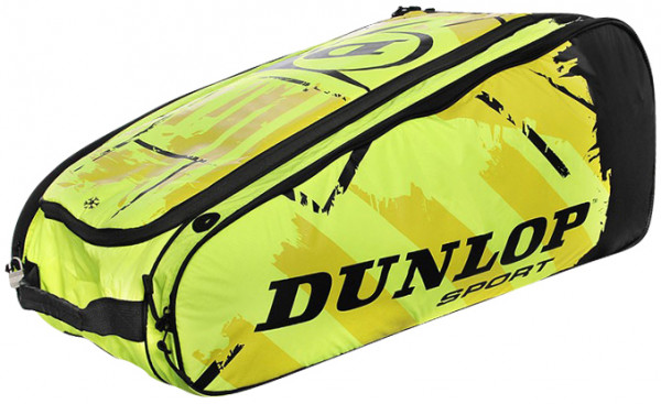 Tennis Bag Dunlop Revolution NT 10RKT - neon yellow/black