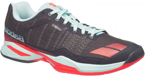 Women's shoes Babolat Jet Team Clay Woman - grey/red/blue