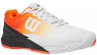 Męskie buty tenisowe Wilson Rush Pro 3.0 Paris - white/orange/black