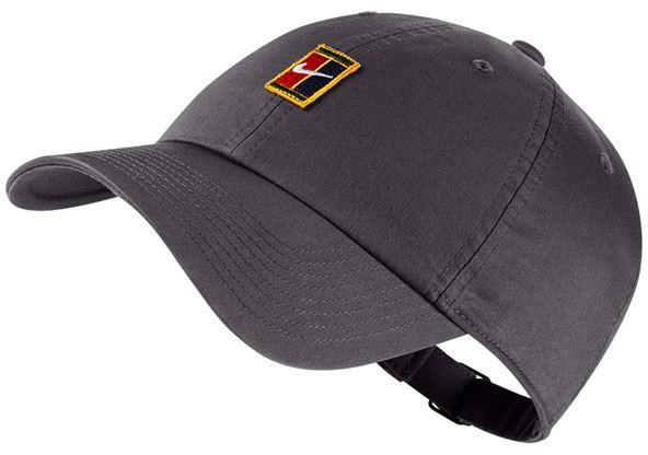 Nike H86 Court Logo Cap - gunsmoke