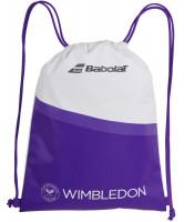 Babolat Gym Bag Wimbledon - white/purple