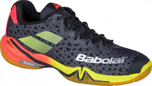 Buty do squasha Babolat Shadow Tour Men - black/red/yellow