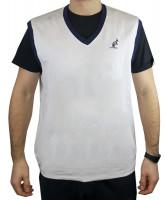 Muški prsluk Australian Elastic Fleece Gauzed Gilet - bianco
