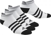 Skarpety tenisowe Adidas Clima ID no-show thin cushioned - 3 pary/white