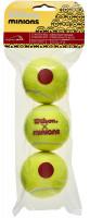 Teniso kamuoliukai pradedantiesiems Wilson Minions Stage 3 3P- red